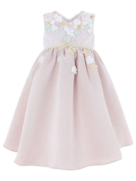 Floral Applique Fashion At Monsoon by Monsoon Baby Cherry Blossom Dress Pink Times