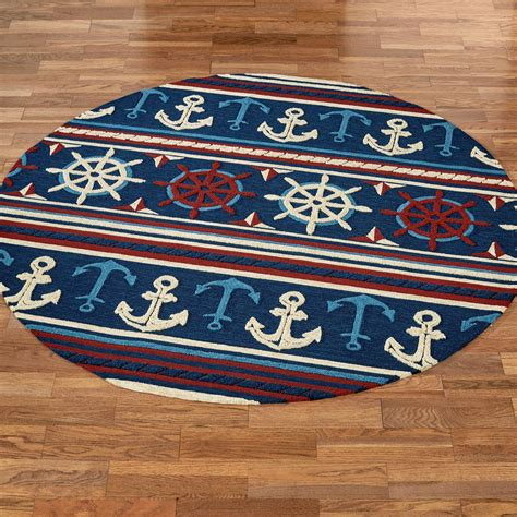 Nautical Outdoor Rug Sailing Away Nautical Indoor Outdoor Rugs