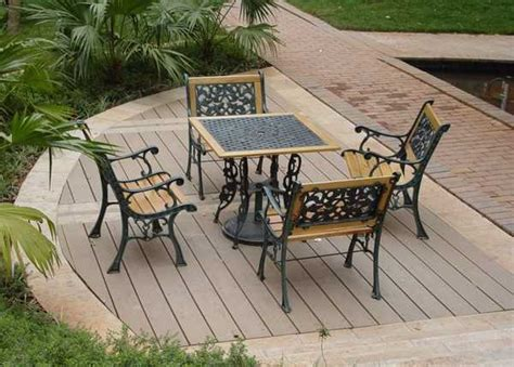 outdoor patio flooring ideen 22 composite flooring ideas to bring contemporary style