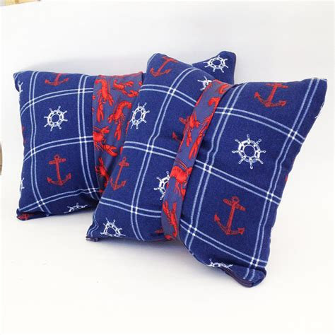 unique throw pillows nautical pillows coastal pillows tie