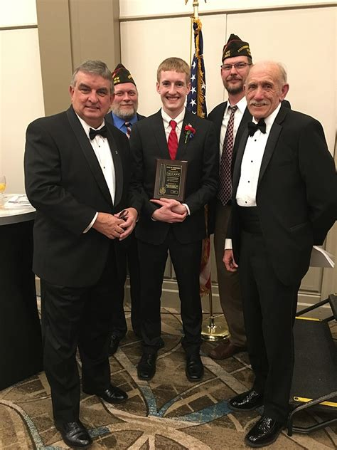 Voice Of Democracy Essay Contest 2017 by D211 Post Phs Senior Aidan Busch Wins Vfw Voice Of