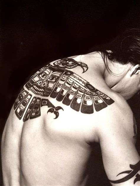 anthony kiedis back tattoo haida american indians inspired both the chili