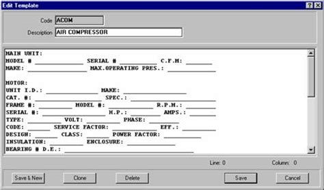 cmms template for microsoft access