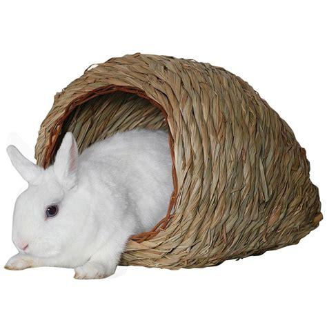 hutte oiseau marshall jouet lapin hutte de foin naturel 13 30