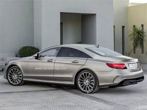 Cl Mercedes Next Generation Mercedes Cls Class Rendered With Amg