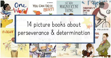 picture books about picture books about perseverance for