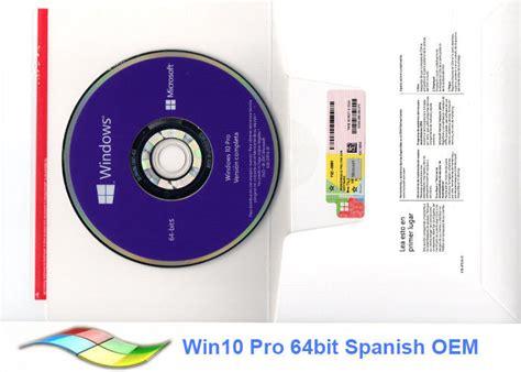 full version vs oem windows 10 full version windows 10 pro oem sticker multi language 100