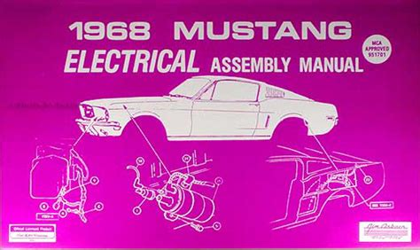 car service manuals pdf 1972 ford mustang interior lighting 1968 ford mustang owner s manual original