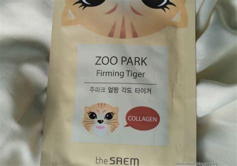 Masker The Saem masker wajah the saem zoo park firming tigger yukcoba in