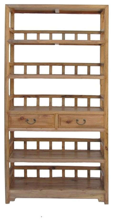 japanese bookshelves chor wood simple display curio bookcase cabinet