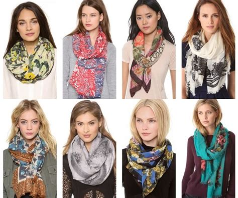 ways to tie a scarf in many styles for different occasions