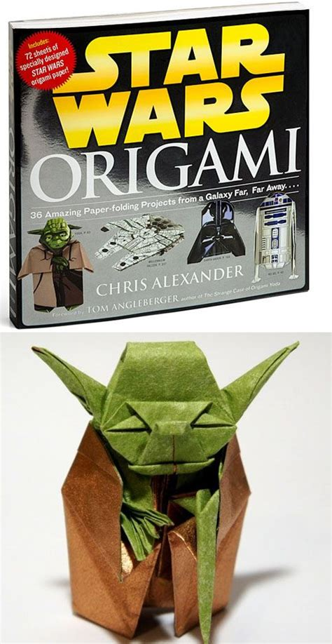Origami R2d2 Book - theretroinc on etsy for origami yoda and the originals