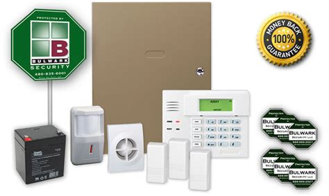 residential security alarm packages bulwark alarm
