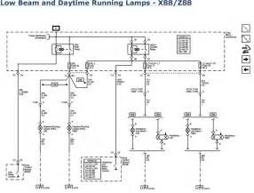 running lights wiring diagram 2006 cadillac cts wiring