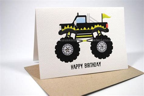 printable monster jam birthday cards 27 best images about monster truck party on pinterest