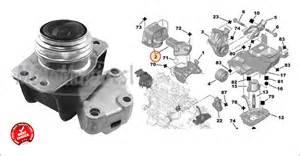 Peugeot 307 Engine Mount Citroen Berlingo C4 Ds4 Peugeot 3008 307 308 5008 Partner