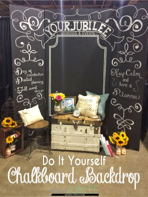 chalkboard paint backdrop your jubilee how to build your own backdrop diy