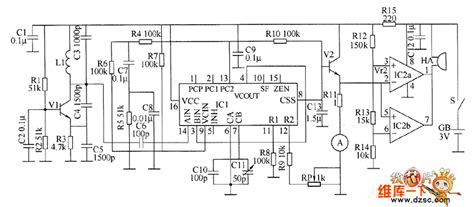 metal detector circuit diagram gt circuits gt metal detector circuit diagram 8 l51133 next gr