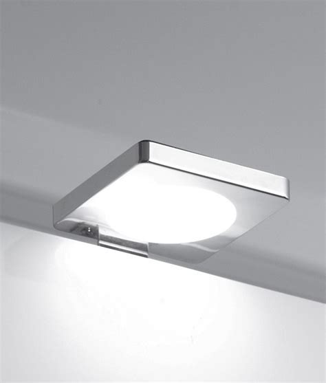 Modern LED Chrome Square Over Cabinet Light