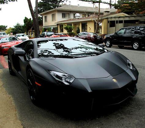 Matte Black Lamborghini Aventador Black Matte Lamborghini Aventador My Lifestyle
