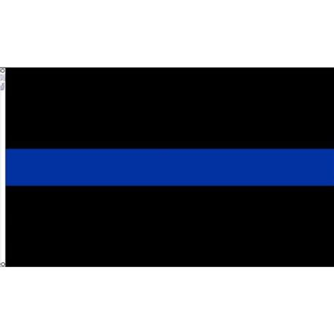 the blue line 3 ft x 5 ft the blue line honor the flag