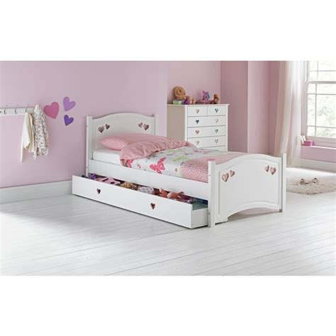 argos single bed headboards buy collection mia single bed frame white at argos co uk