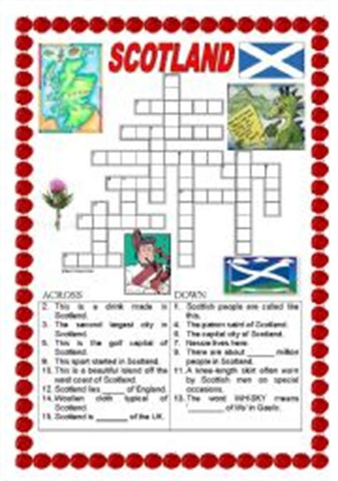 printable quiz about scotland english teaching worksheets scotland