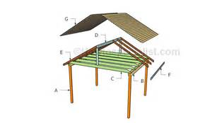 Outdoor Shelter Plans by Picnic Shelter Plans Howtospecialist How To Build