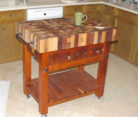 custom made butcher block 301 moved permanently