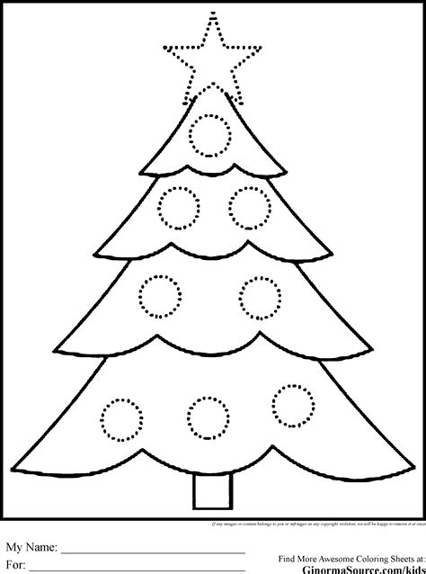 free coloring pages of santa and christmas tree