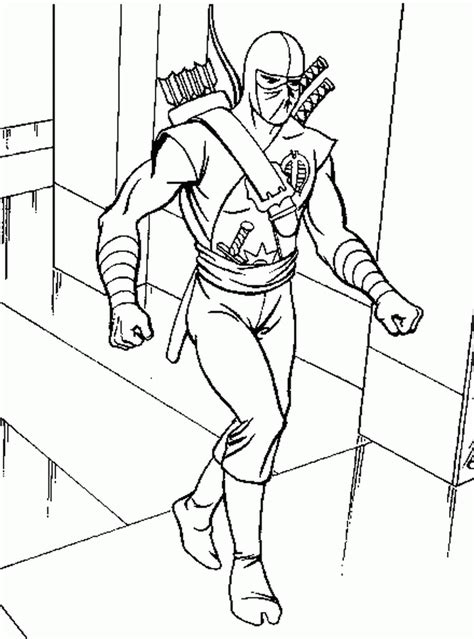 coloring page action man coloring pages 11