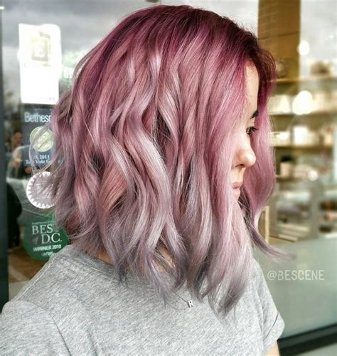 pictures of grey hairstyles with pink highlights 20 trendy gray hairstyles gray hair trend balayage
