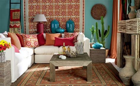 Mexican Style Decorations For Home by 5 Simple Ideas For Mexican Style Interiors Home Harmonizing