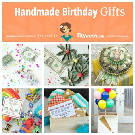 Handmade Gifts For Mothers Birthday - 15 easy diy birthday gifts tip junkie