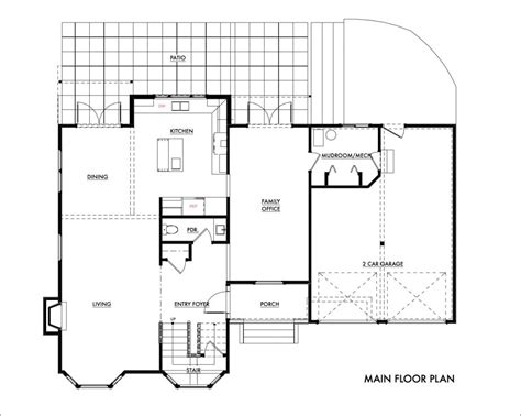 tract home redmond tract home remodel architect 7600