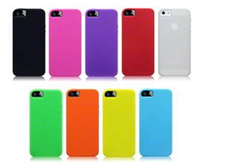 Softcase Carbon Fiber Iphone 5 5g 5s Rubber Soft T Berkualitas iphone 5 silicone sell