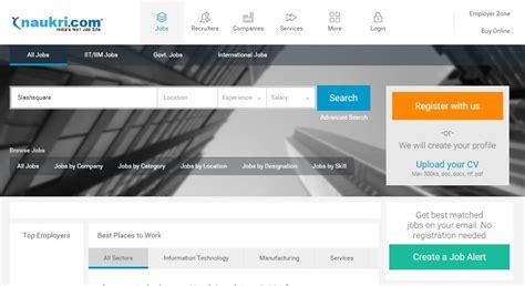 design online job portal 8 best job portals you must check out india