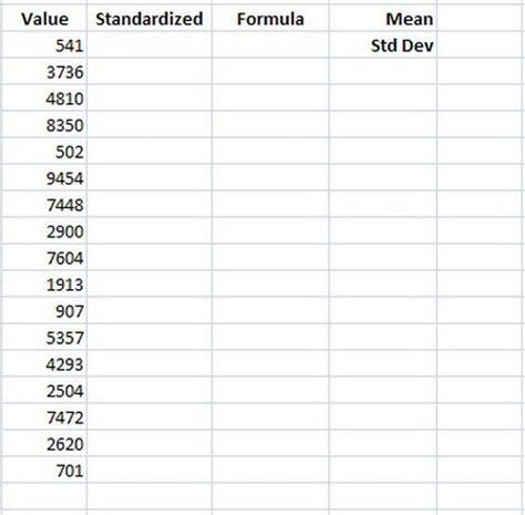 Standard Formula Credit Quality Step How To Find The Z Score Using Microsoft Excel Techwalla
