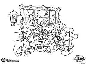 free coloring pages disney christmas coloring pages