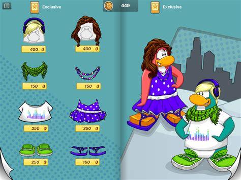 Cp Mk Polkadot mundo do club penguin itens exclusivos do aplicativo my penguin