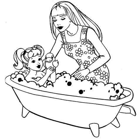 coloring page reverent child free printable barbie coloring pages activity sheets