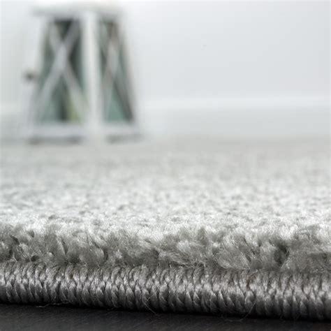 teppiche grau designer rug bedroom runners single coloured handmade