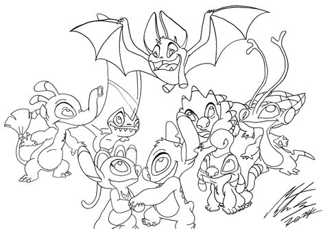 lilo and stitch sparky coloring pages disney s lilo and stitch my favorite experiments by