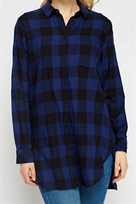 M 3 Tees And Set Blue And Black Stripes T2909 checked blue shirt blue black just 163 5