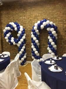 Decorating Ideas Ninetieth Birthday 90th Birthday Nwiballoons