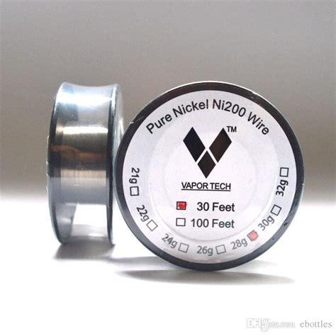 Tech Nickel Ni200 Wire 100feet 28 vapor tech nickel ni200 wire temperature wire