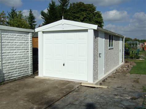 Hanson Garages Price List by Apex Range Hanson Concrete Garages