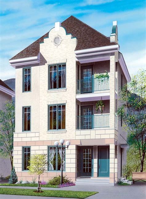 multifamily house plans multi family plan 64953 at familyhomeplans com