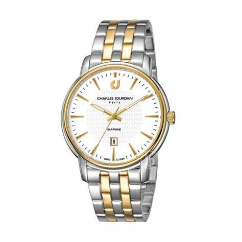 Charles Jourdan Cj1020 1112 Jam Tangan Pria Silver Gold harga charles jourdan jam tangan pria silver komb gold putih stainless steel cj 149 13 1