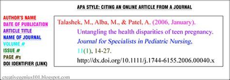 style understanding doi identifiers  cite